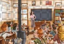 Ismène Toussaint - La maîtresse d'école