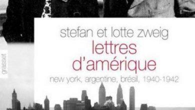 Stefan Zweig - Lettres d'Amérique