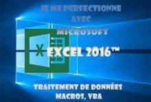 Je me perfectionne avec Excel 2016