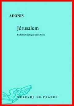 Adonis - Jérusalem